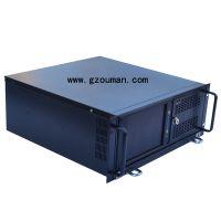 供应4U一体机 4U一体化工作站机箱 支持14槽工业底板及7槽母板 工业级