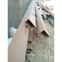 U型长条木纹铝方通装饰铝天花吊顶生产厂家