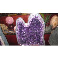 紫晶洞 天然原石 紫水晶洞摆件聚宝盆 水晶消磁改善风水