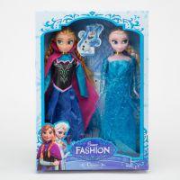 Frozen芭比娃娃 冰雪奇缘大冒险 真睫毛6关节可动 速卖通 29CM