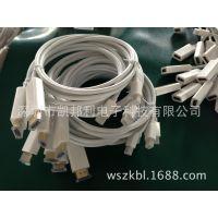 供应mini dp转HDMI 支持雷电接口接电视 白色支持雷电接口接电视