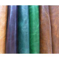 杭州尊美皮革供应家具牛皮革头层油蜡皮