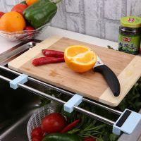 厨之宝 可伸缩晾碗架水槽沥水架厨房置物架滤水架碗架多功能调节
