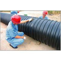 供应昆明钢带增强HDPE螺旋波纹管,昆明钢带PE螺旋管厂家