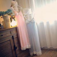【艾琳沃】日单 甜美系 夏季吊带睡裙睡衣连衣裙