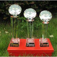 西安水晶桌摆 水晶奖杯桌牌制作 西安水晶礼品 西安水晶杯制作