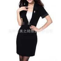 供应女士职业套装 女装西服 时尚休闲修身西装