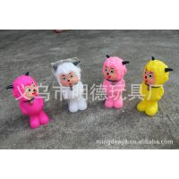 【搪胶】 惨叫喜洋洋 灰太狼动漫系列 搪胶玩具 公仔 礼品 新款
