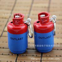 创意新奇特打火机批发017仿真小煤气瓶造型打火机烟具批发
