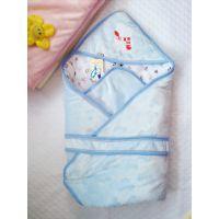厂家直销 婴儿水晶绒加厚包被 婴儿睡袋 宝宝包被
