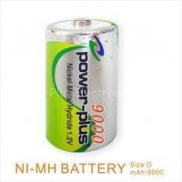 high capacity rechargeable battery used toy cars NIMH D 9000mAh/1.2v