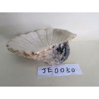 陶瓷工艺品 酒店家居用品 窑变釉陶瓷 西式贝壳果盘摆件 JE0050