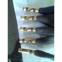 专业鞋带啤嘴 金属头棉绳 手提袋绳 环保彩色带 东莞绳带厂家