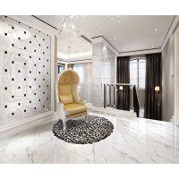 爵士白 全抛釉地砖800x800客厅防滑仿大理石 佛山地板砖瓷砖 QIP600