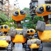 厂价直批 外贸原单欧美动漫周边 机器人总动员机器人瓦力毛绒公仔