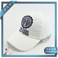 东莞帽厂定做新款韩版做旧洗水帽,男女士户外帽子H绣花帽鸭舌帽