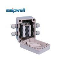 DS-AG-0811 防水盒套装  防水光伏太阳能接线盒 防水8P端子盒