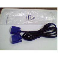 供应电脑线材 全新10米VGA线双磁环针对针连接液晶显示器线配件批发