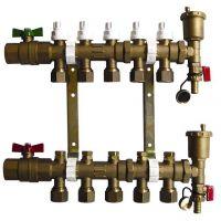 供应地暖分水器-河北地暖管厂家供应