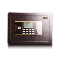 得力33115 电子密码保管箱 家用入墙保管箱 双保险防盗保险柜