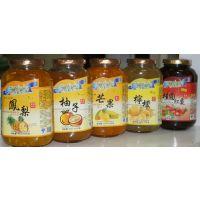 供应优美生活蜂蜜水果茶 奶茶果汁饮品原料柚子茶 芒果 柠檬 百香果 桂圆红枣