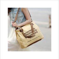 厂家订制环保袋帆布包 新款休闲包运动包购物袋手提袋 潮学生
