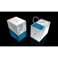 厂家供应高档化妆品礼盒套装,白卡纸盒子包装