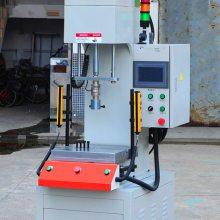 单柱数控压装机/水泵数控压装油压机