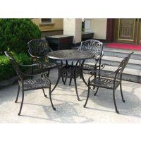 供应供呼和浩特遮阳伞包头铸铝桌椅赤峰花园家具鞍山特斯林桌椅
