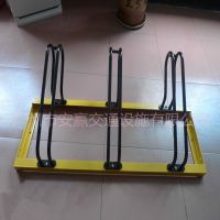 供应卡位式碳素钢自行车停车架