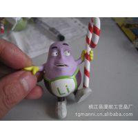 厂家生产 ABS塑料公仔 硬胶塑料玩具 卡通立体玩具公仔