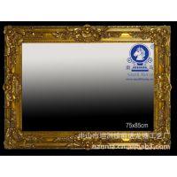 厂家直销画框镜框定制 油画框 海报框 线条框 十字锈画框画框定制图片