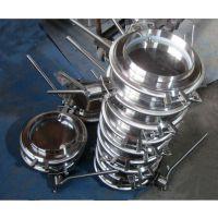 专业出售大口径卫生级阀门管件 不锈钢快装焊接式蝶阀
