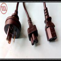 厂家供应优质;机箱电源线,电脑主机电源线,笔记本电源线3孔
