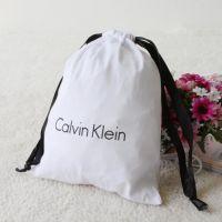 小巧纯棉针织面料小抽绳包袋 旅游旅行用品分类收纳袋 内衣袋