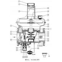RG/2MCS-RG/2MBZ 系列 入口压力5bar燃气调压器DN65-DN80-DN100