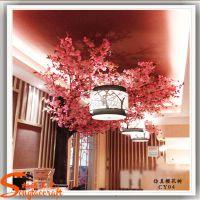 直销优质仿真树 酒店装饰植物 仿真造景樱花树