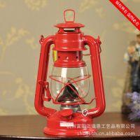 油灯 陆营灯 地中海风格 摆件 风灯 烛台 煤油灯 五色混装 DT235
