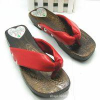自产自销全球时尚木屐女士人字拖日本木拖鞋夏季家居凉拖鞋