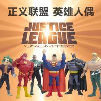 正义联盟动漫 蝙蝠侠 复仇者联盟 超人 模型玩具 人偶公仔玩偶