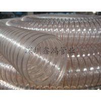 pu透明钢丝防静电软管