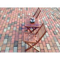户外柚木餐桌椅 舒纳和阳台三件套 实木休闲桌椅