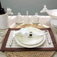 【安纳西W】高档欧式西餐浮雕陶瓷餐盘西餐盘牛排盘餐具