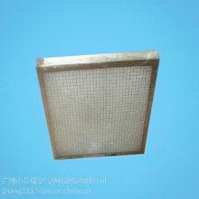 广州艾瑞板式耐高温空气过滤器厂家生产、发货一条龙服务