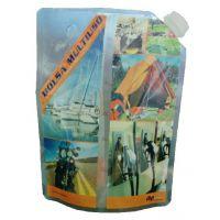供应5L液体站立吸嘴袋/带嘴自立袋/液体包装袋