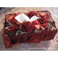 厂家直销 蕾丝抽纸盒 餐巾纸盒 优良品质批发