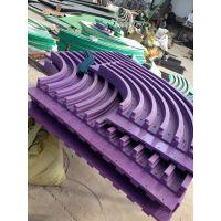 供应供应链板弯轨 塑料链板专用弯轨 链板转弯导轨