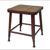 可定做美式铁艺家具loft风格矮凳方凳化妆凳换鞋铁艺复古做旧椅子