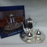 树脂工艺品摆件锌合金咖啡礼品摆件软装家居创意咖啡具物铁艺托盘