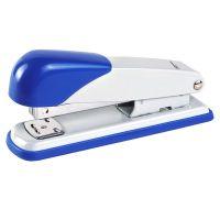 齐心【正品优惠】10#便携式省力订书机B3014办公订书器塑料装订器
